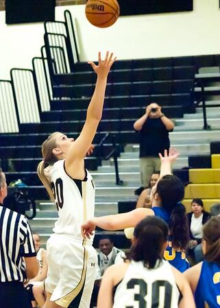 Basketball Verrado Varsity Girls vs Buckeye 1/26/2011