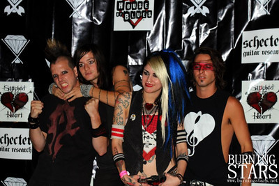 Stitched Up Heart @ House Of Blues (Hollywood, CA); 2012