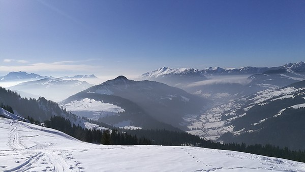 Mont Charvet Ski Tour, France, Feb 2018
