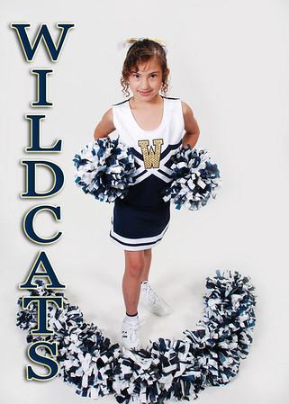 Russell Wildcats Cheerleaders 2010