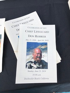 Don Rohrer Service 2019