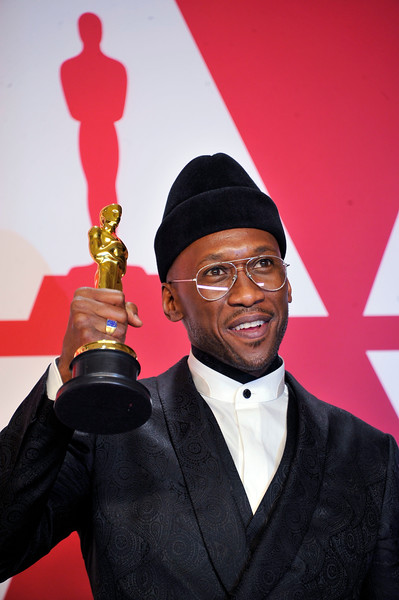 "ACADEMY AWARDS 91ST OSCARS PRESSROOM HELD AT THE LOWES HOTEL IN HOLLYWOOD CALIFORNIA ON FEBRUARY 24,2019. MAHERSHALA ALI BEST SUPPORTING ACTOR ""GREEN BOOK""  PHOTOGRAPHER VALERIE GOODLOE"