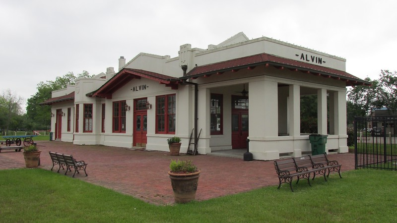 Alvin Train Depot 3