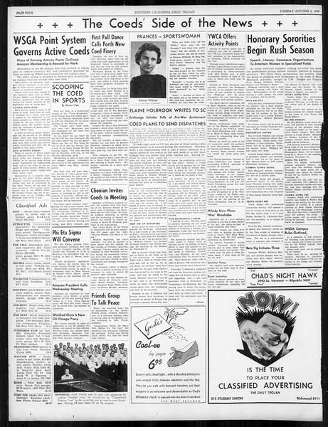 Daily Trojan, Vol. 31, No. 13, October 03, 1939