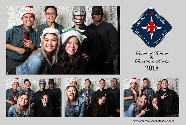 LDBD Court of Honor & Christmas Party 2018