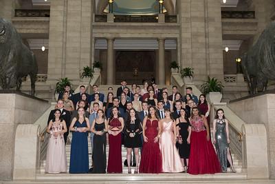 Photos inside the Manitoba Legislature