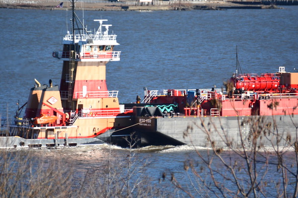 The barge RTC 108 is also new