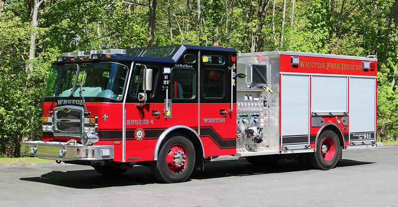 Engine 4.  2019 E-One Typhoon.  1500 / 750 / 30F