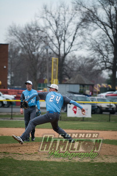 Belleville East Boys Baseball 3/25/15
