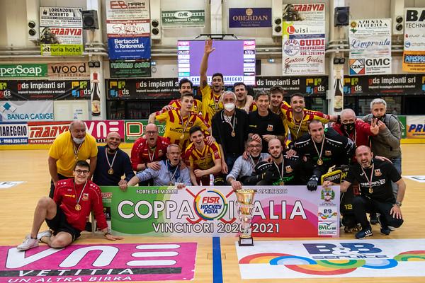 Finale Coppa Italia A1: Amatori Wasken Lodi vs GDS Impianti Forte dei Marmi