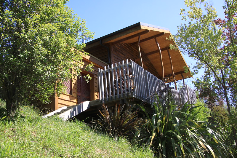 Our cabin at Resurgence Ecolodge