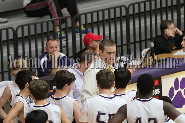 Basketball JV boys Dec 2012