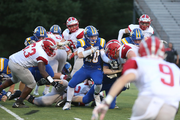 Western versus Lord Botetourt football 2018