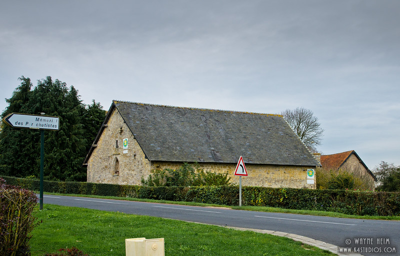 Road to Sainte-Mere-Eglise 2     Photography by Wayne Heim