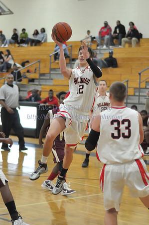 2011-02-03 BHS Men's JV Basketball VS Harding