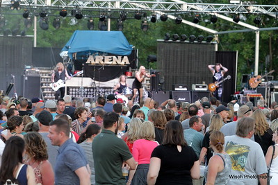 Arena Performing at Rockin Rogers 2018