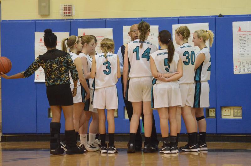 Girls JV Basketball December 19 vs Elkton