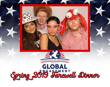 Ole Miss Global Engagement Farewell Dinner