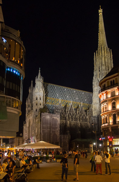 St Stephen's and Stephansplatz, Vienna