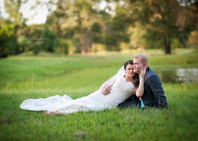 Lori and Chris Bridals Groomals