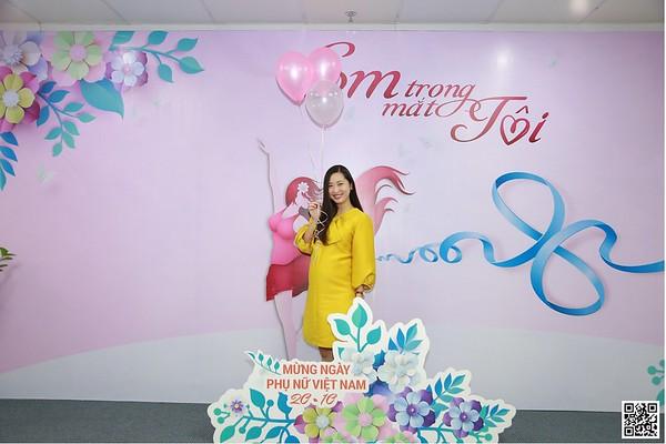 MCredit Head Office | Vietnam Women's Day 20/10 instant print photo booth in Ha Noi | Chụp ảnh in hình lấy ngay Phụ nữ Việt Nam 20/10 | Photobooth Hanoi