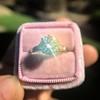 2.03ct Art Deco Transitional Cut Diamond Solitaire 6