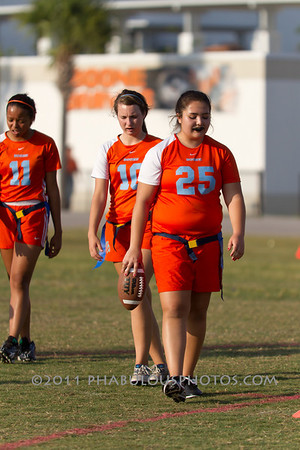 Wekiva @ Boone Varsity Flag Football - 2011