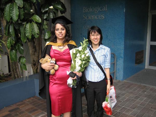 Wendy & Jeyran graduation