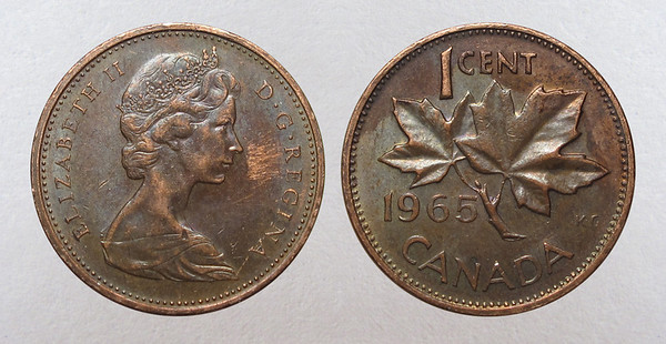Canadian Cents 1920-1965