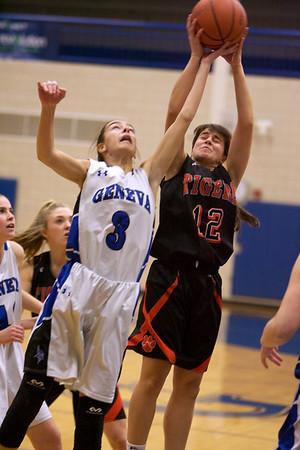 Wheaton Warrenville South girls basketball vs. Geneva