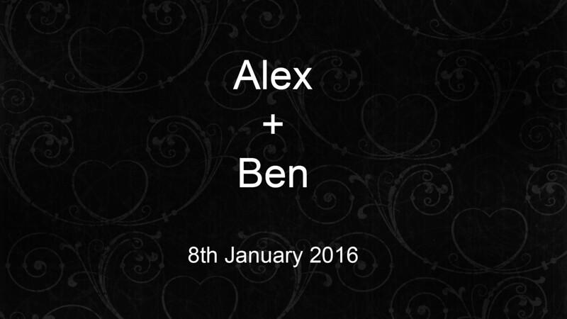 Alex & Ben's Wedding Highlights (Fin2)-1080p Online Video 8MBPS.mov