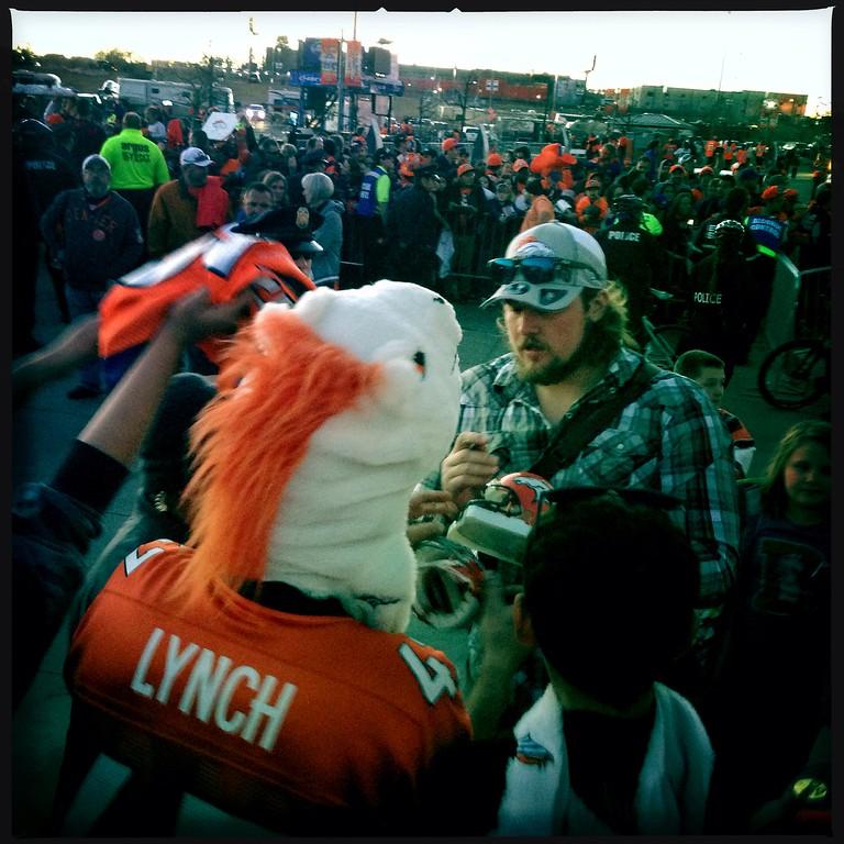 . After the Denver Broncos vs New England Patriots AFC Championship game. (Photo by Craig F. Walker/The Denver Post)