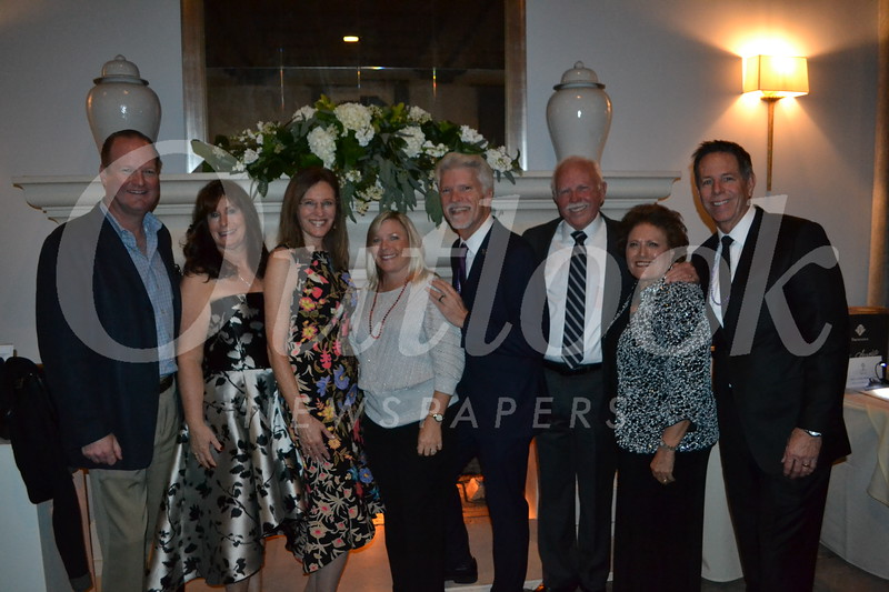 Eric Gowey, Marie Sackett, Karen Presley, Michelle Lund, Larry Kostrzewa, Bob and Gloria Wilson and Dean Conklin