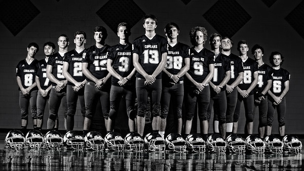 2017 - Coast Christian Football Team Photos