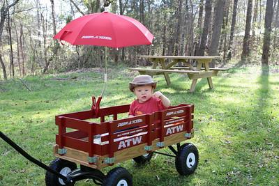 Wagon Ride with Nana
