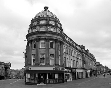 Newcastle City Centre in Mono
