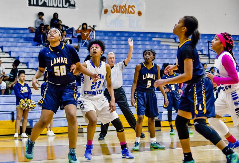 Lady Panthers Varsity vs  Lamar 02-09-16-8