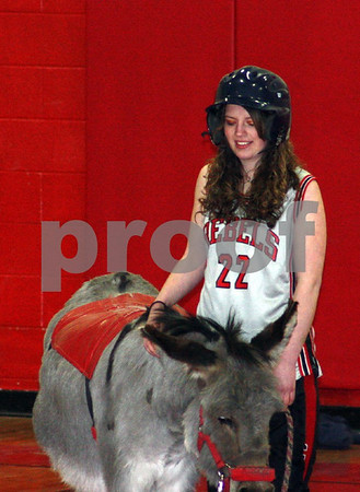 Donkey Basketball @ Cotton School 0409