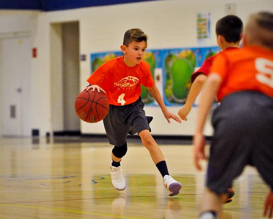 Rockwood 3rd Grade Basketball Aron Rauls 1/21/17