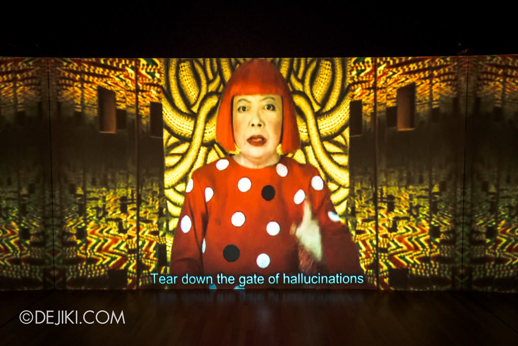 National Gallery Singapore - Yayoi Kusama: Life Is The Heart of A Rainbow / I Who Have Arrived in Heaven