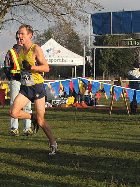 2005 Canadian XC Championships - McKenzie now 5 seconds behind