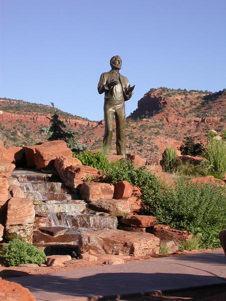 Kanab - Levi Stewart statue - KCOT.jpg