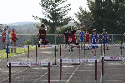 Boy's and Girl's 300 Meter Hurdles - 2012 Mid Mich Invite