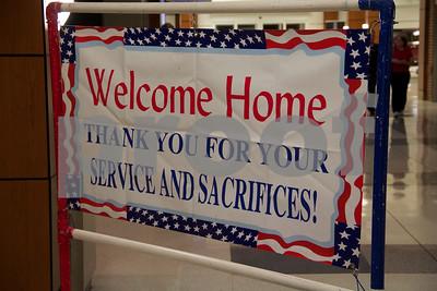 2/10/15 Welcome Home Soldier Honors Senior Airman Mitchell Nechamkin by Linden Black