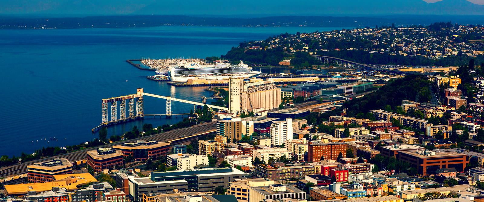 美國西雅圖,站得高看的遠