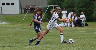 Varsity Girls Soccer vs Weston - 09/16/2013