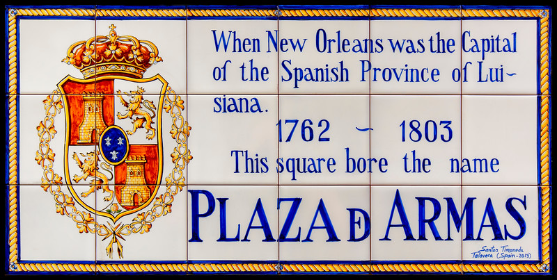 Plaza de Armas (today's Jackson Square)