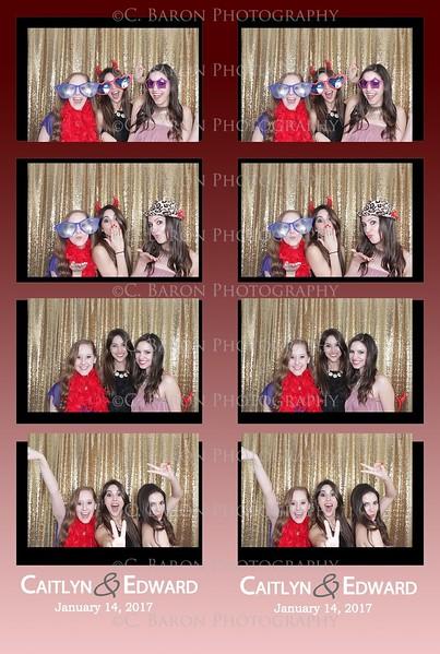 Caitlyn + Edward = Swanky Photobooth