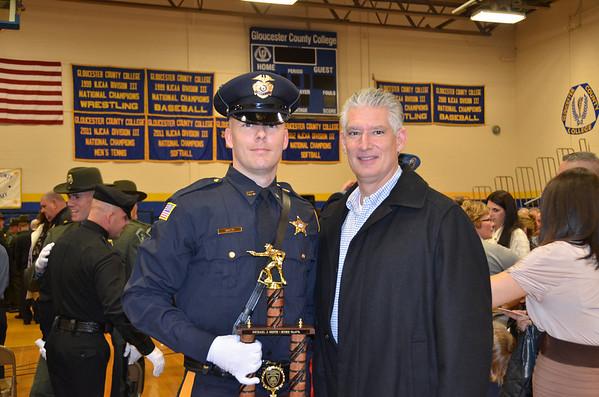 Michael Smith Police Academy Graduation 2012