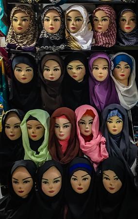 Chador og Hijab